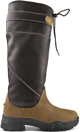 473ce7527b0e6 Brogini Derbyshire Bottes Campagne Femmes Marron Chaussures Chaussures