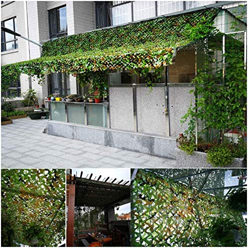 LISI Garten Shade Camo Netting Tarnnetz 4x5m Sunscreen Mesh-Oxford-Gewebe Groß for Die Jagd Schießen Verstecken Markisen Patios (Size : 2 * 4M)