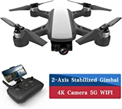 CFLYAI Dream01 FPV Drone with 4K Camera FHD Live Video 2-axis Stabilized Gimbal 5G WIFI GPS Return Home Portable Mini Drone with Brushless Motors