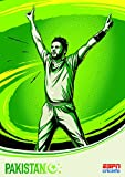 Cricket World Cup – Pakistan – Wall Poster Print - 30.4