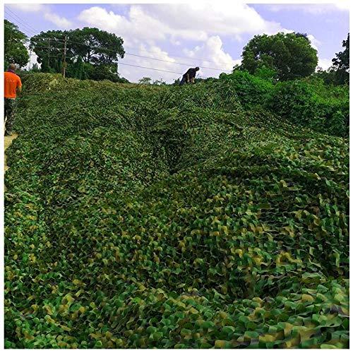 Sombra Protector Solar Toldos Malla Solar Lona Camuflaje Velas Adecuado Cubiertas Plantas Automóviles con Balcón Color Verde Múltiples Tamaños(5cm*5cm)(Size:10 * 10m)