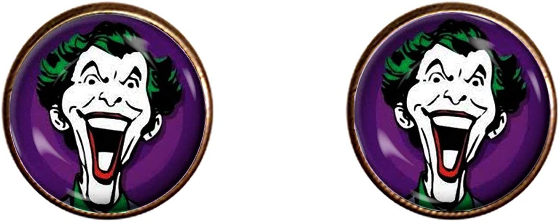 The Joker Cufflinks Handmade Gift Jewelry Pendant Charm Gifts
