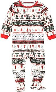 ZEVONDA Family Christmas Pajamas - Matching Pajamas for Mom Dad Kids Sleepwear Set Xmas Pjs Sleepsuit Nightwear Comfy Homewear Holiday Pyjama for Mens Womens Girls Boys
