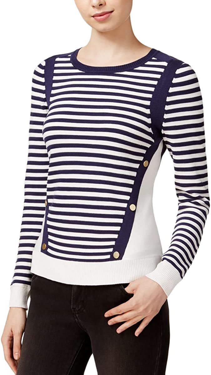 Maison Boston Mall Jules Womens Strip Sweater Don't miss the campaign Pullover Colorblock