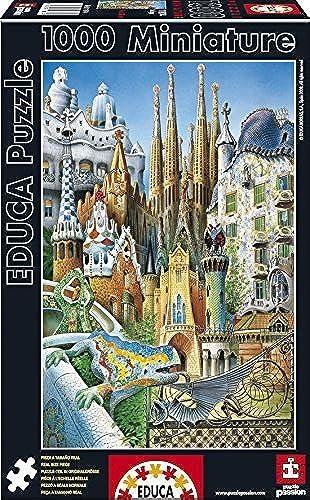 Educa Borras 1000 Piece Miniature Puzzle - Collage by Educa Borras
