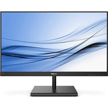 Philips 272E1SA - Monitor de 27 Pulgadas (VGA, HDMI, DisplayPort, Tiempo de Respuesta de 4 ms, 1920 x 1080, 75 Hz, FreeSync), Color Negro: Amazon.es: Informática