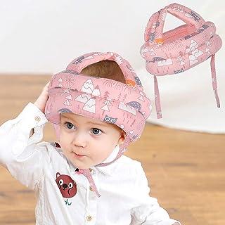 کلاه ایمنی کودک نو پا ORANGEHOME ، بالشتک محافظ کلاه سر مخصوص تنفس ، کلاه ایمنی ضد سقوط کودکان برای راه رفتن و بازی - صورتی