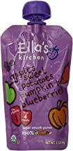 Ella%27s Kitchen Organic Baby Food, The Sweet Potato, Blueberry One (4 Plus Months), 3.5 Ounce Pouches - Pack of 7