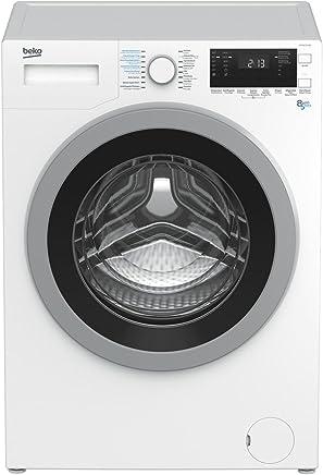 Beko HTV 8633 XS0 Independiente Carga frontal A Blanco lavadora - Lavadora-secadora (Carga