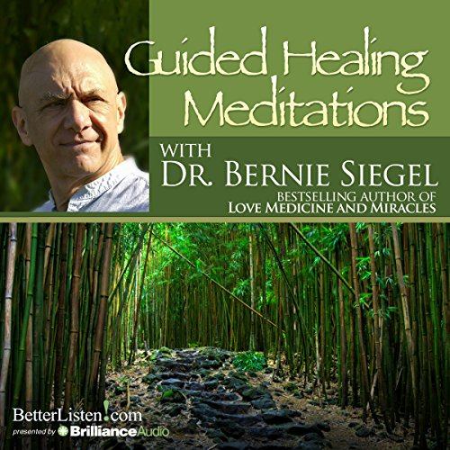 Guided Healing Meditations Audiobook By Dr. Bernie Siegel cover art