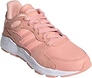 adidas Women's CrazyChaos Fashion Sneakers Dust Pink/Clear Orange/Cloud White
