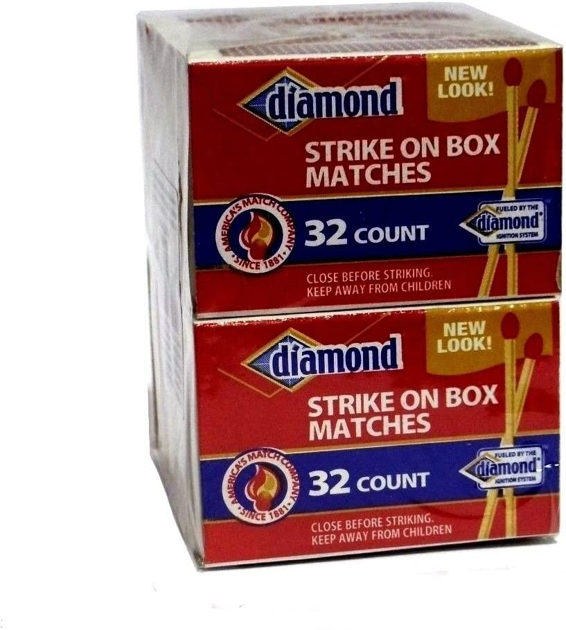 Diamond Wooden Strike On Box 32 famous Boxes Matches Per 10 2021 spring and summer new