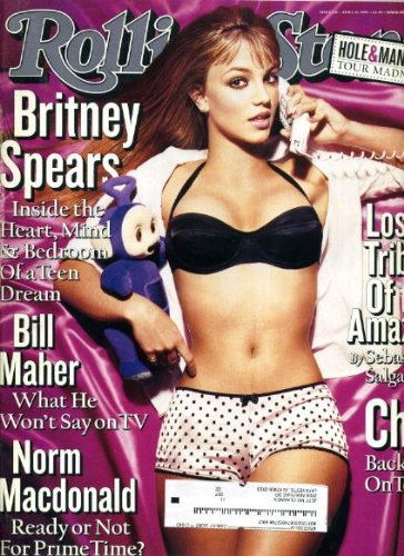 Rolling Stone April 15 1999 #810 Britney Spears Cover, Cher, Bill Maher, Norm Macdonald, Hole, Marilyn Manson, Dusty Springfield