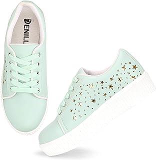 Amazon.in: Green - Casual Shoes / Women