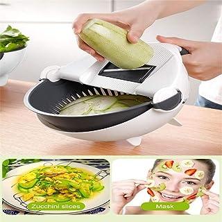 SEESEE.U Cuisine Multi-Fonctions Sécurité des légumes Pomme de Terre Fruits Rapide Shredder Cuisine Drain Basket Drain Gad...