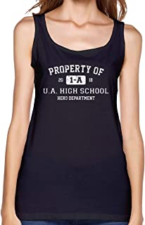 Property of 1-A U.A. High School My Hero Academia Inspired Women's Yoga Shirt Sportswear Workout Clothes