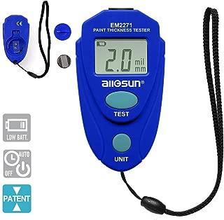 ALLOSUN EM2271 Blue Digital Painting Thickness Meter