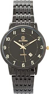 Olivera Dress Watch for Men, Analog, Stainless Steel, OG5039