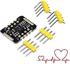 LaDicha 5 Unids Max30102 Medidor De Frecuencia Cardíaca Módulo De Sensor De Frecuencia Cardíaca Detección De Pulsos Prueba De Concentración De Oxígeno En La Sangre para Arduino
