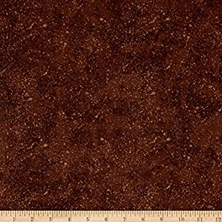 Wilmington Prints Essentials Spatter Medium Brown Fabric by The Yard