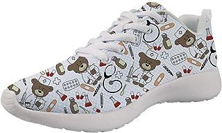 Showudesigns Zapatillas Deportivas de Mujer Running Sneakers Respirable Zapatos 36EU-42EU