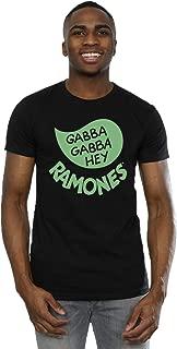 Absolute Cult Ramones Men's Gabba Gabba Hey T-Shirt