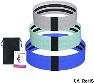 Hip resistance band, Squat beautiful hips, Sculpting buttocks, Squat pull-resistant pull ring set (3 pieces)