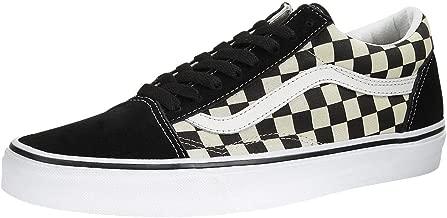Vans Unisex Checkerboard Old Skool Lite Blk/White Checkerboard Slip-On - 10