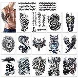 Tatuajes temporales hombres