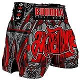 Pantalón Muay Thai Kick Boxing Buddha Retro Fight