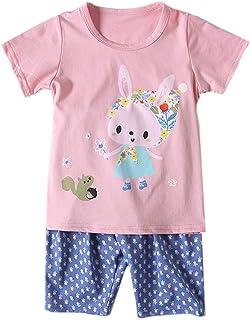 Habigua Little Boys Girls Soft Cute Fruit Pajama Snug Fit Pjs Red