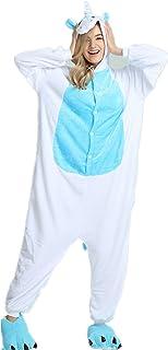 354a009c Kenmont Unisexo Adulto Kigurumi Pijama Traje Cosplay Animal Pyjamas  Unicornio (XL(178-188CM