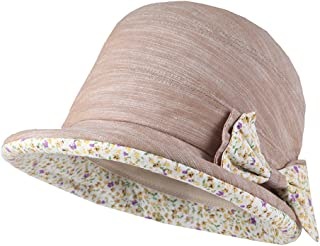 Cacuss Multicolor Summer Beach Bucket Hat Foldable Cap Sun Hats Wheels Birm UPF 50+