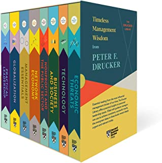 Peter F. Drucker Boxed Set (8 Books) (the Drucker Library)