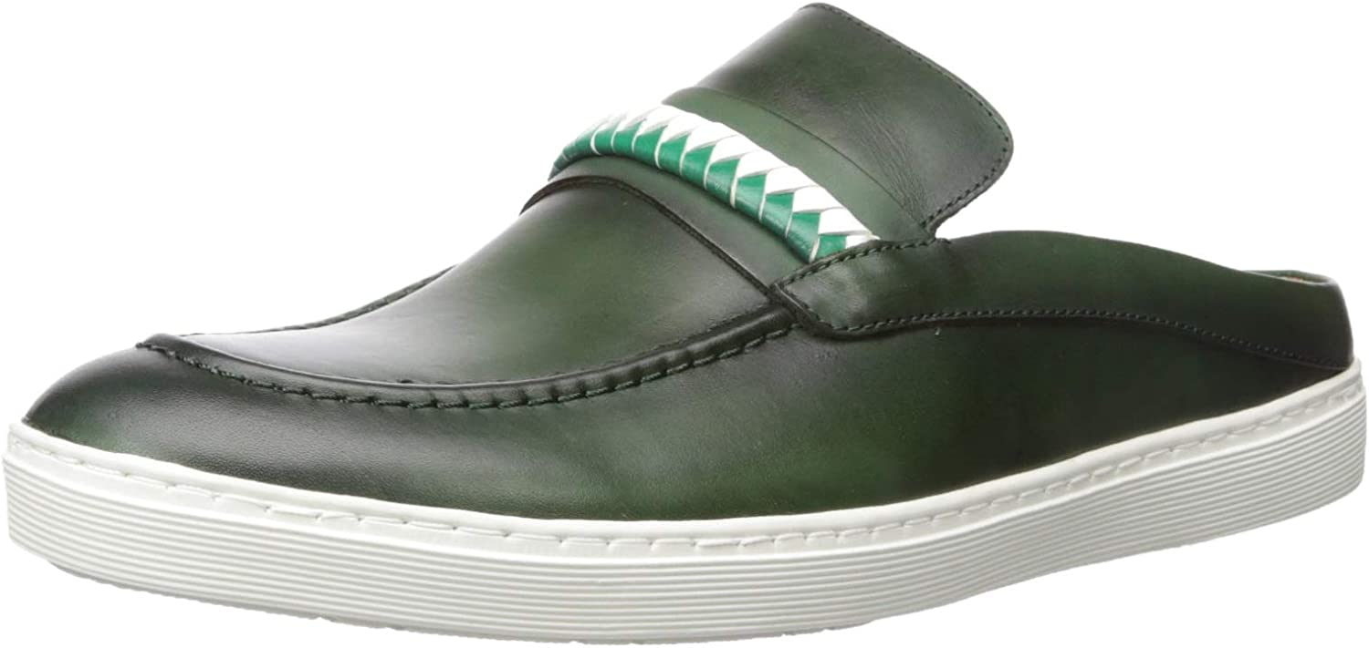 Driver Club Directly managed store USA Rare Mens Leather Made Penny Brazil Florida in Slide