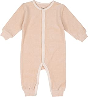 Niteo Baby Organic Cotton Velour Snap Front Coverall