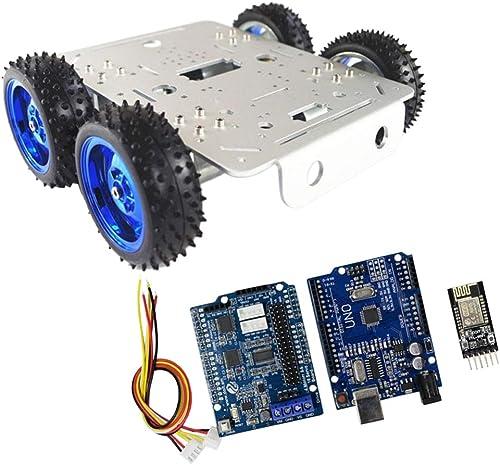 F Fityle C300 Blautooth F ges WiFi-Steuerungs Kit Tank fürgestell Mit 18650 Batteriekasten Und Sechskantschlüssel - Mehrfarbig WiFi Driver Kit