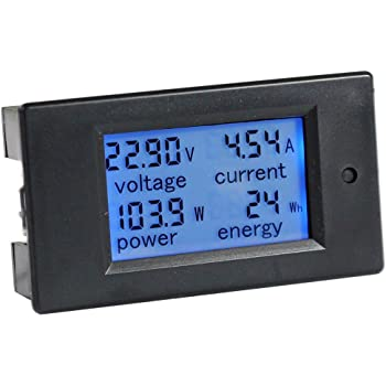 [SCHEMATICS_48IS]  Amazon.com: bayite DC 6.5-100V 0-100A LCD Display Digital Current Voltage  Power Energy Meter Multimeter Ammeter Voltmeter with 100A Current Shunt:  Industrial & Scientific | Lcd Marine Meter Wiring Diagram |  | Amazon.com