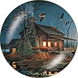 Wild Wings Moonlight Retreat Collector Plate by Terry Redlin
