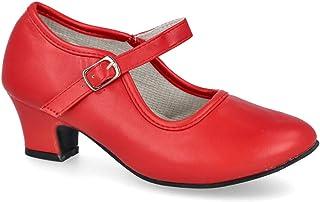 L&R SHOES AB-2 Zapatos Flamenca - Sintético