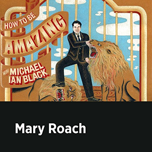 Mary Roach audiobook cover art