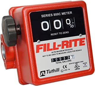 mechanical flow meter for diesel