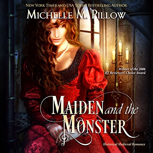 Maiden and the Monster audiobook cover art
