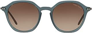 Luxury Fashion | Giorgio Armani Mens AR8109568013 Grey Sunglasses | Season Outlet