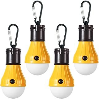 Doukey LED Camping Light [2 Pack or 4 Pack] Portable LED...