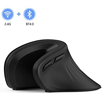 Thumb Buttons /& Removable Palm Rest for Computer PC Laptop Mac Ergonomic Mouse 2.4G Optical Ergonomic Vertical Mouse 600//1200//1600 DPI Relieve Hand//Wrist Pain Wireless Vertical Mouse
