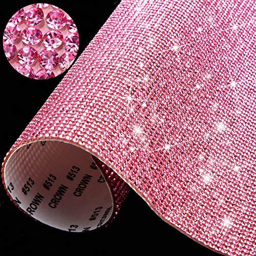 12000 Piezas de Pegatinas de Diamantes de Cristal Brillantes Decoración de Coche...