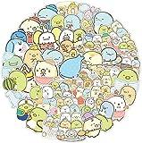votgl Lindo Juego Pegatinas DIY álbum de Recortes Diario papelería Equipaje Pegatinas Decorativas de Dibujos Animados Juguetes para niños 100 Piezas