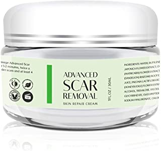 Scar Removal Cream - Advanced Treatment for Face & Body, Old & New Scars from Cuts, Stretch Marks, C-Sections & Surgeries ...