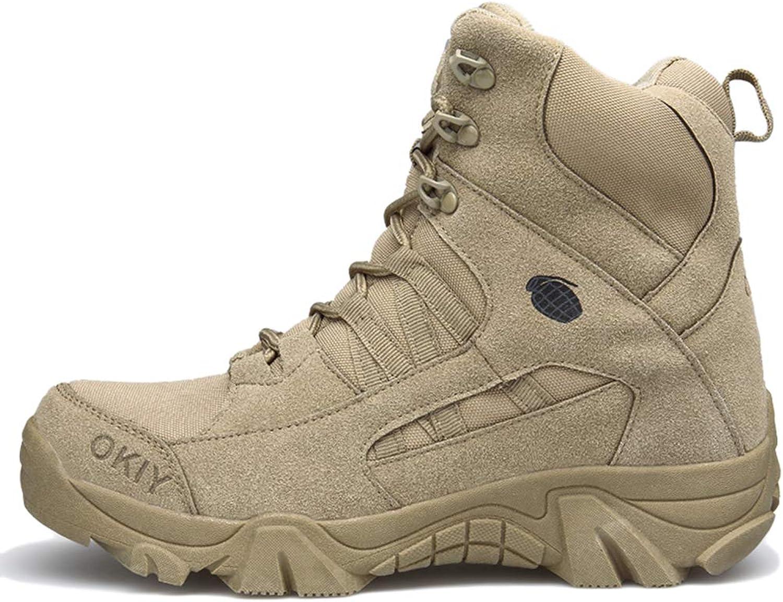 Liabb Mnner Wüste High Top Combat Stiefel Outdoor-Camping Klettern Wandern Patrol Jungle Military Tactical Stiefel-Streit Armee-Sicherheitsschuhe